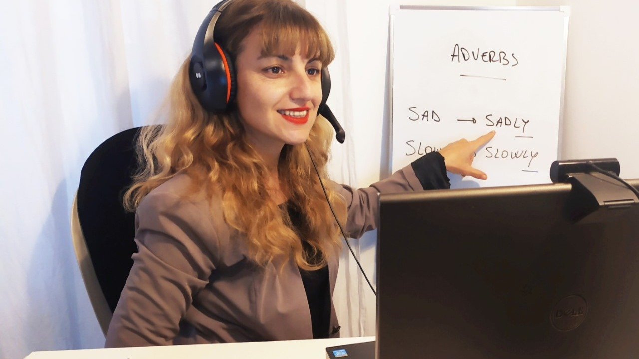 Learning Online teaching with Yanina C | Amphy