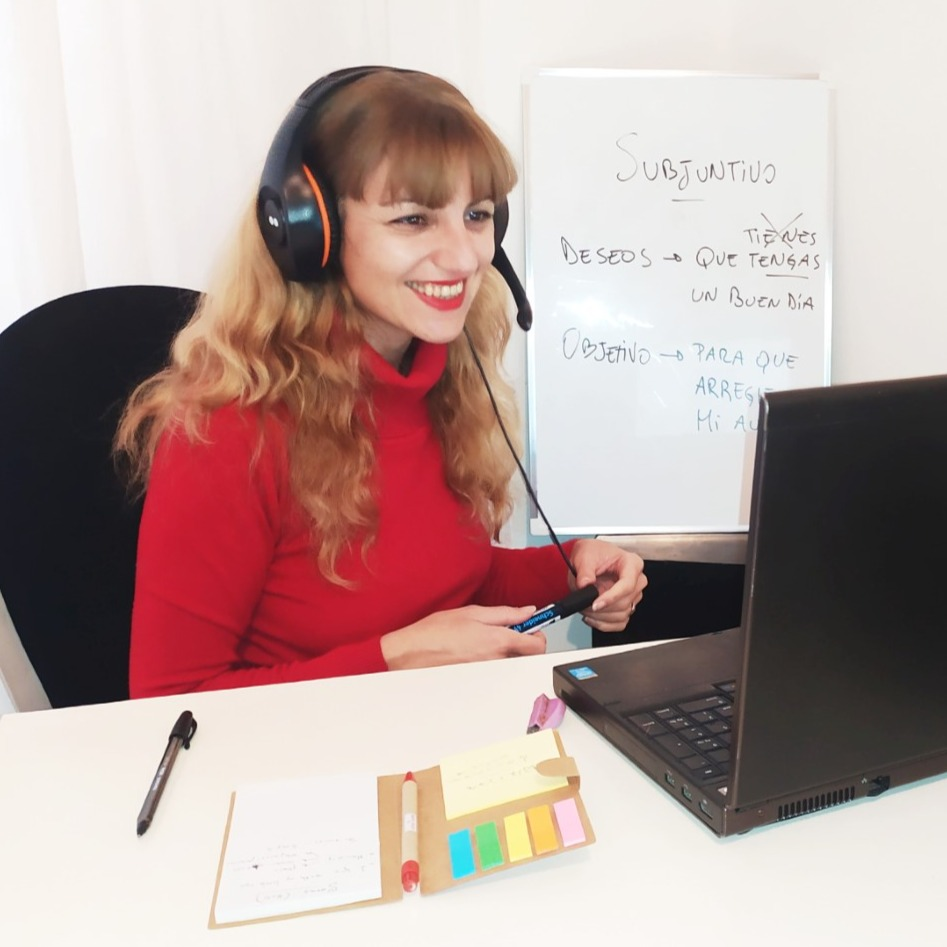 Zoom Online teaching with Yanina C | Amphy
